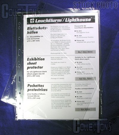Lighthouse Exhibition Sheet Protector-5 Pages