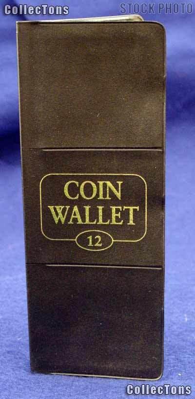 Harris 12 Pocket Coin Wallet Album for 2x2 Holders