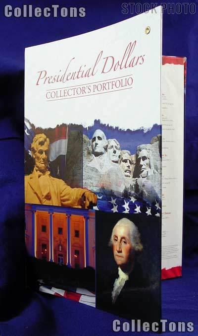 Whitman Presidential Dollar Deluxe Portfolio