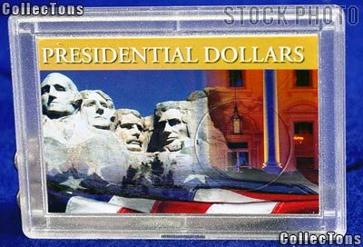 Harris 2x3 Permalock Holder PRESIDENTIAL DOLLAR