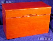 Wooden Box for 10 GSA Silver Dollar Slab Holders