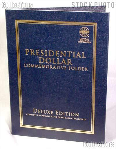 Whitman Presidential Dollar P&D Deluxe Folder #2382