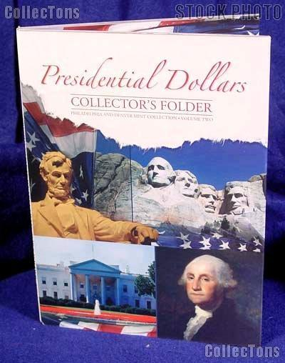 Whitman Presidential Dollar P&D Folder Vol. 2 #2280