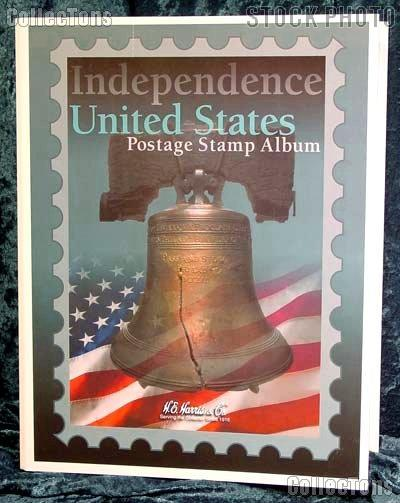 Harris Independence U.S. Postage Stamp Album 1HRS28