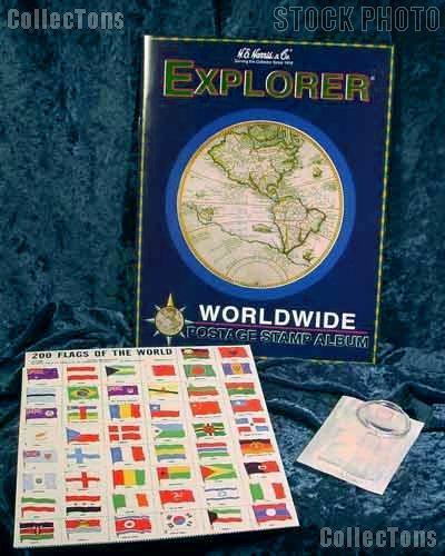 Harris Worldwide Stamp Collecting Kit Explorer 4HRS1