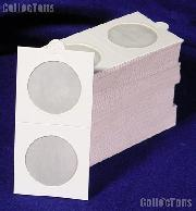 100 Lighthouse 2x2 Self-Adhesive Holders HALF DOLLARS (35mm)