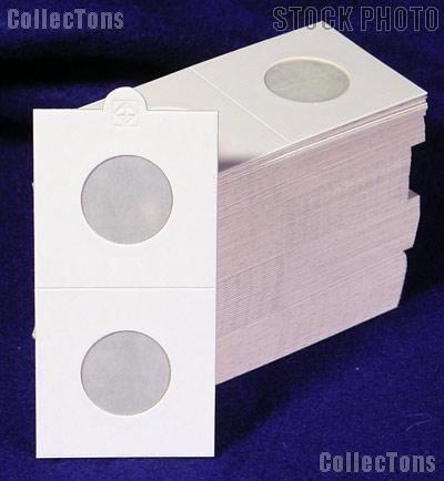 100 Lighthouse 2x2 Self-Adhesive Holders for NICKELS (25mm)