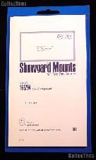 Showgard Pre-Cut Black Stamp Mounts Size 165/94