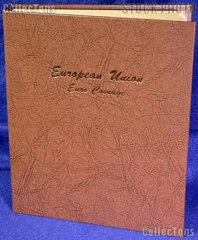 Dansco European Union Euro Coinage Album #7400
