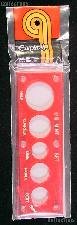 Capital Plastics 2x6 Holder - US MINT SET in Red