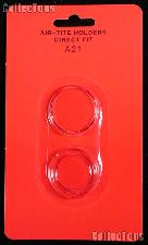 "Air-Tite Coin Capsule Direct Fit ""A21"" Coin Holder for NICKELS"