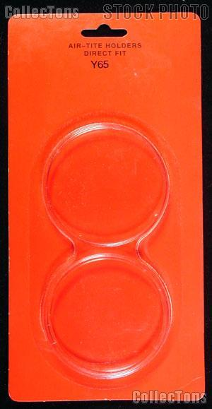 """Air-Tite Coin Capsule Direct Fit """"Y65"""" Coin Holder for 5oz. ROUNDS"""