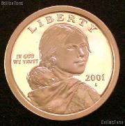 2001-S Sacagawea Golden Dollar - Proof