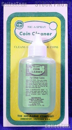 Nic-A-Spray 1.25 oz Silver Coin Cleaner