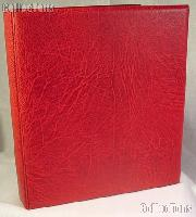 Lighthouse Classic GRANDE F Coin Binder in Red