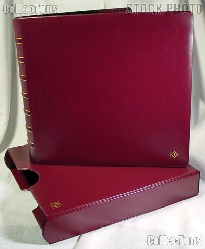 Lighthouse MAXIMUM Binder & Slipcase in Red