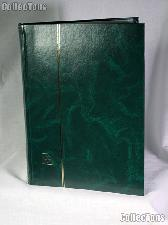 Stamp Stockbook 64-Black Page Stamp Album Lighthouse LS4/32 Green