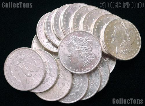 1904-O BU Morgan Silver Dollars from Original Roll