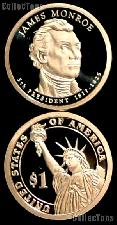 2008-S James Monroe Presidential Dollar GEM PROOF Coin