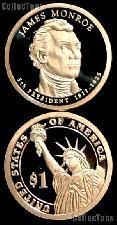 2008-S James Monroe Presidential Dollar GEM PROOF Coin