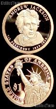 2008-S Andrew Jackson Presidential Dollar GEM PROOF Coin
