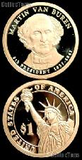 2008-S Martin Van Buren Presidential Dollar GEM PROOF Coin