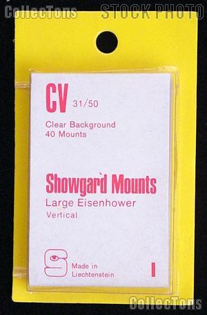 Showgard Pre-Cut Clear Stamp Mounts Size CV31/50