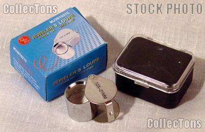 SE 10X Jeweler's Loupe 21mm Lens Magnifier
