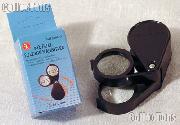 SE Foldaway 12X  24X Plastic Pocket Magnifier
