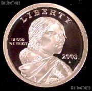 2003-S Sacagawea Golden Dollar - Proof
