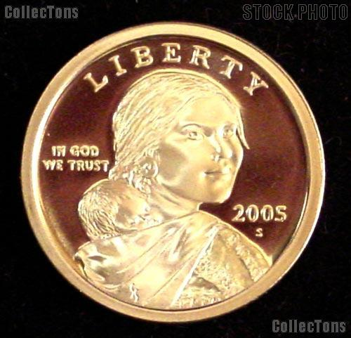 2005-S Sacagawea Golden Dollar - Proof