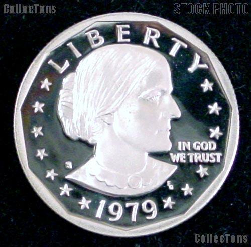 1979-S Susan B. Anthony SBA Dollar - Gem Proof