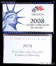 2008 U.S. Mint PROOF SET - ORIGINAL - 14 Coins