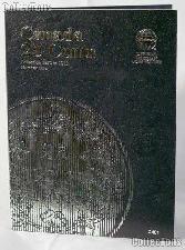 Whitman Canada 25 Cents 1870 - 1910 Folder #2481