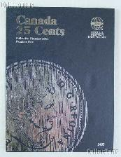 Whitman Canada 25 Cents 2001 - 2009 Folder #2485