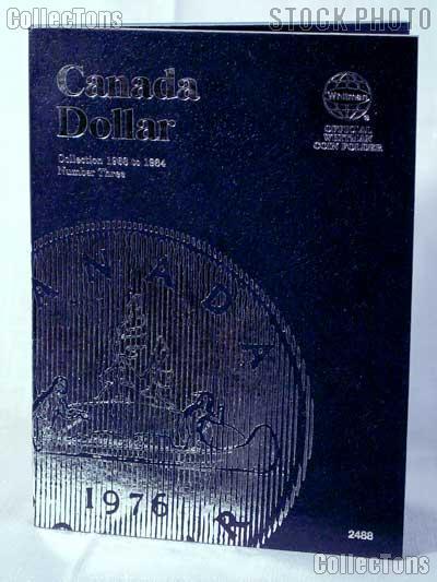 Whitman Canada Dollar 1968 - 1984 Folder #2488