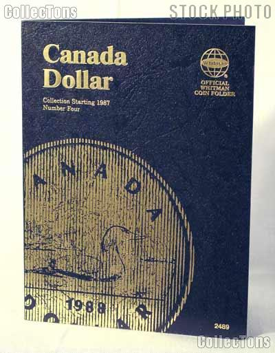 Whitman Canada Dollar 1987 - 2008 Folder #2489