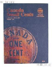 Whitman Canada Small Cents 1920 - 1988 Folder #2479