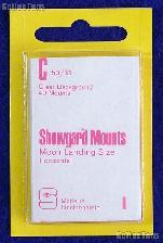 Showgard Pre-Cut Clear Stamp Mounts Size C50/31