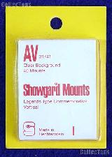 Showgard Pre-Cut Clear Stamp Mounts Size AV31/41
