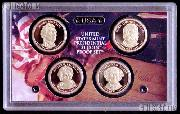 2008 U.S. Mint Presidential Dollar Proof Set - 4 Coins