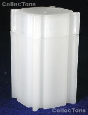 CoinSafe Square Coin Tube for 25 SMALL DOLLARS