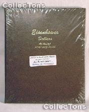 Dansco Eisenhower Ike Dollars with Proof Album #8176