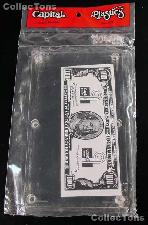 Capital Plastics Modern Currency Bill Holder