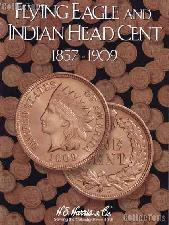 Harris Flying Eagle & Indian Cents Coin Folder  2671