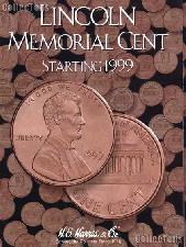 Harris Lincoln Cents 1999-2008 Coin Folder  2705