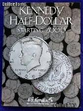 Harris Kennedy Half Dollar 2000-2005 Coin Folder  2942