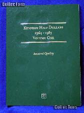 Littleton Kennedy Half Dollars 1964-85 Coin Folder LCF7