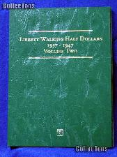 Littleton Walking Half Dollar 1937-47 Coin Folder LCF10