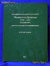 Littleton Washington Quarters 1948-64 Coin Folder LCF13